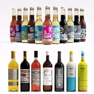 酒饮料组合 现代厨房用品 酒品 饮料 酒瓶
