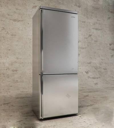现代冰箱3D模型下载