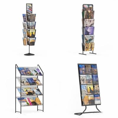 报刊架展示架 现代装饰架 书架 报刊架 书报展示架 CD展示架