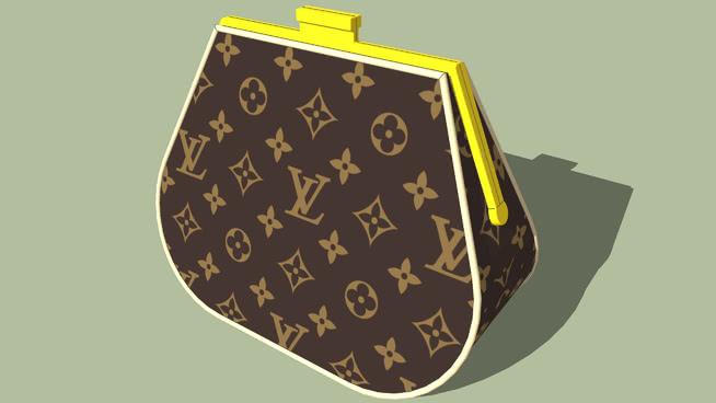 路易·威登硬币钱包 钱包 琴拨 箱包 其他 盾