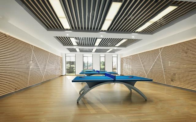 乒乓球场3D模型