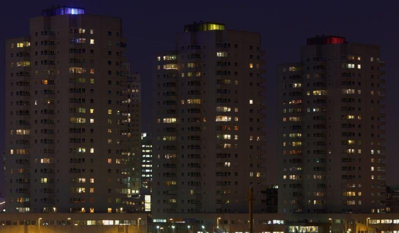 外景-夜晚窗户 57