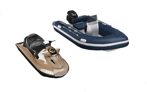 现代摩托艇 现代其他器材 快艇 皮艇