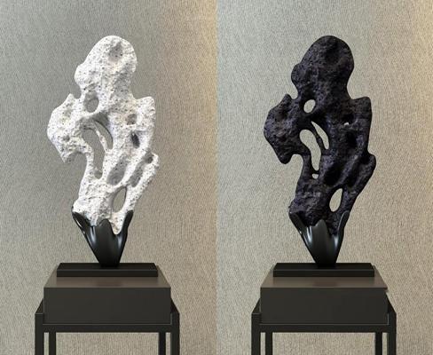 新中式奇石装饰 奇石摆件 奇石雕塑 新中式摆件 奇石装饰 摆件 装饰品