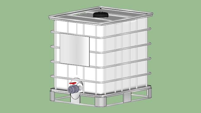 工业系列-设备-集装箱手提包-通用350 Gal. HDPE 盆 垃圾箱 其他 烤炉 打火机