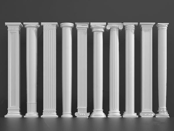 欧式罗马柱3d模型