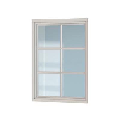 现代长方形玻璃推拉窗