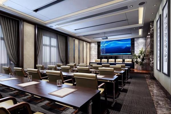现代会议室 现代会议室 会议桌椅