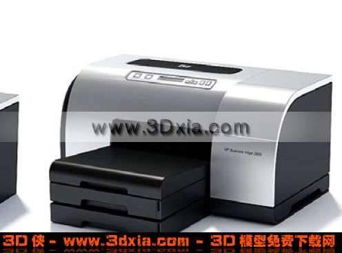 多功能打印机3D模型