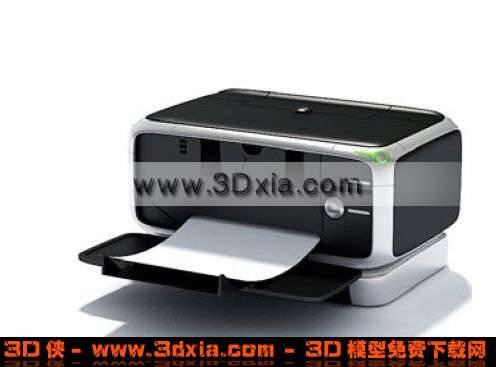 功能强大的打印机3D模型