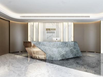现代轻奢酒柜3d模型