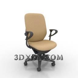 d办公椅sdown-18-3DS格式