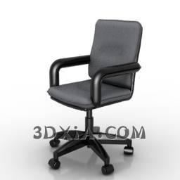 d办公椅sdown-198-3DS格式