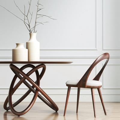 北欧表情NORHOR 餐桌椅组合 现代 装饰摆件 北欧表情NORHOR
