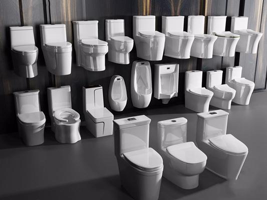 马桶合集 现代卫浴用品 马桶 小便器