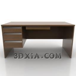 dmax办公桌sdown-57-3DS格式