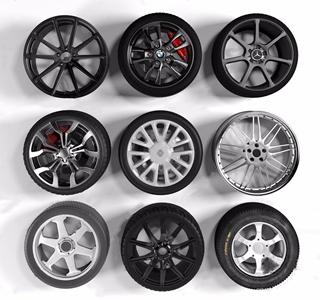 汽车车轮胎奔驰宝马组合 现代其他 奔驰宝马轮胎