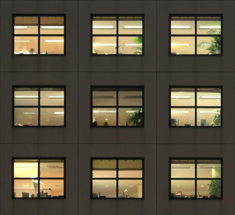外景-夜晚窗户 60