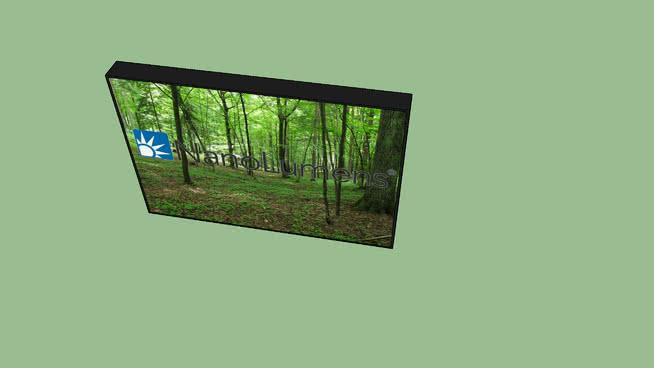 纳米结构LED显示屏 显示器 监视器 其他 电视机 纱窗
