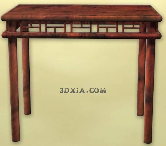 d古典中式桌子sdown-20-3DS格式