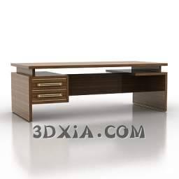 一般的办公桌c-3DS格式