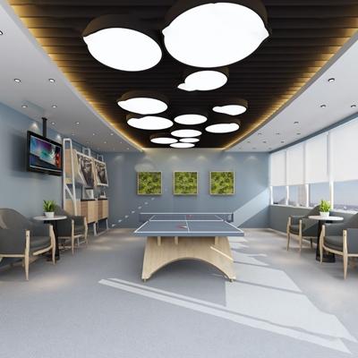 乒乓球室3D模型