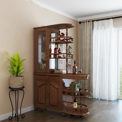 美式酒柜3D模型