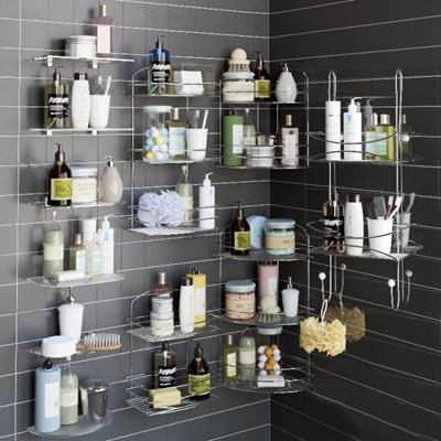 现代沐浴日用卫浴架组合
