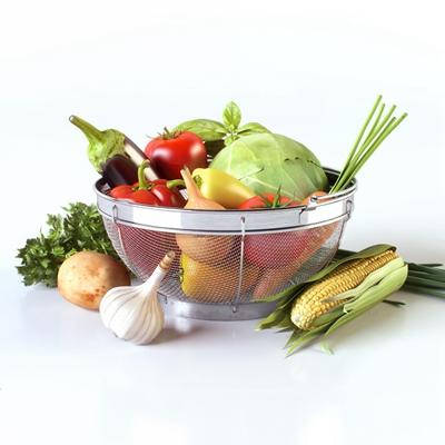 现代蔬菜茄子包菜玉米组合3D模型