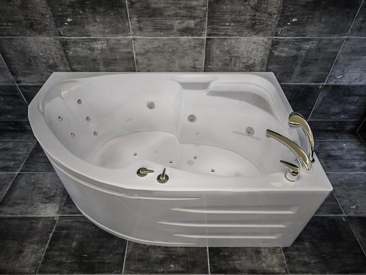 现代浴缸3D模型