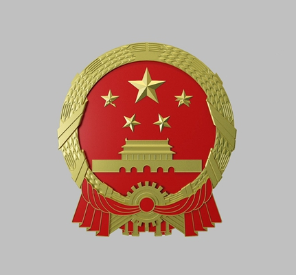 现代国徽3D模型