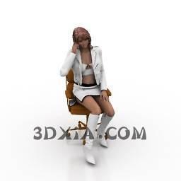3d人物模型下载