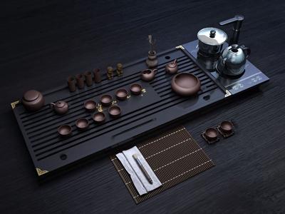 茶盘 新中式茶具 茶盘 茶台 茶具
