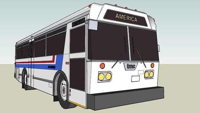 灰狗示范TMC CyyCRISISER T-30城市公交客车 巴士 火车 野营游乐汽车 垃圾箱