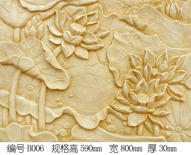 雕花-中式石雕 063