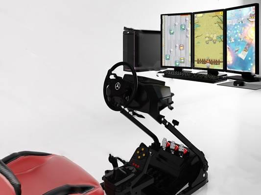 现代游戏机3D模型下载