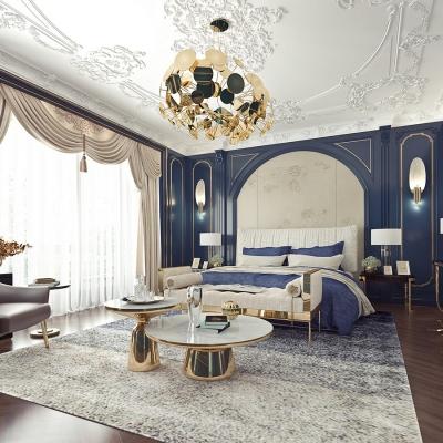 法式輕奢臥室3d模型