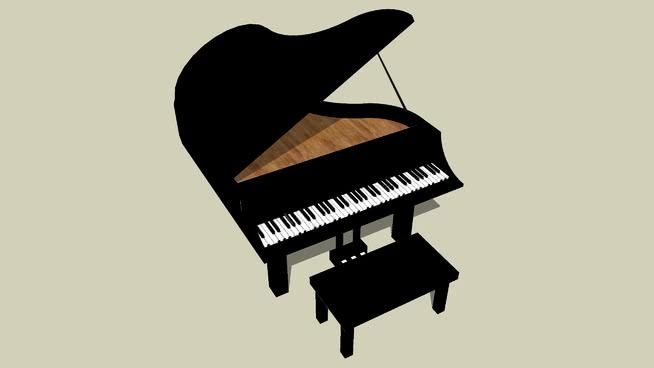 钢琴 三角钢琴