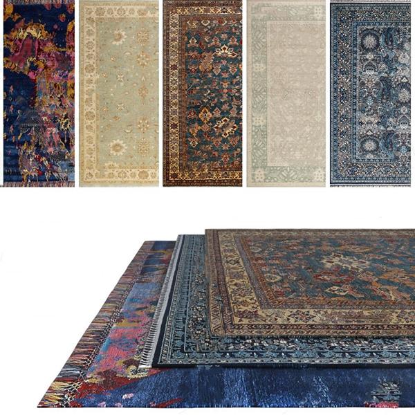 美式地毯3d模型
