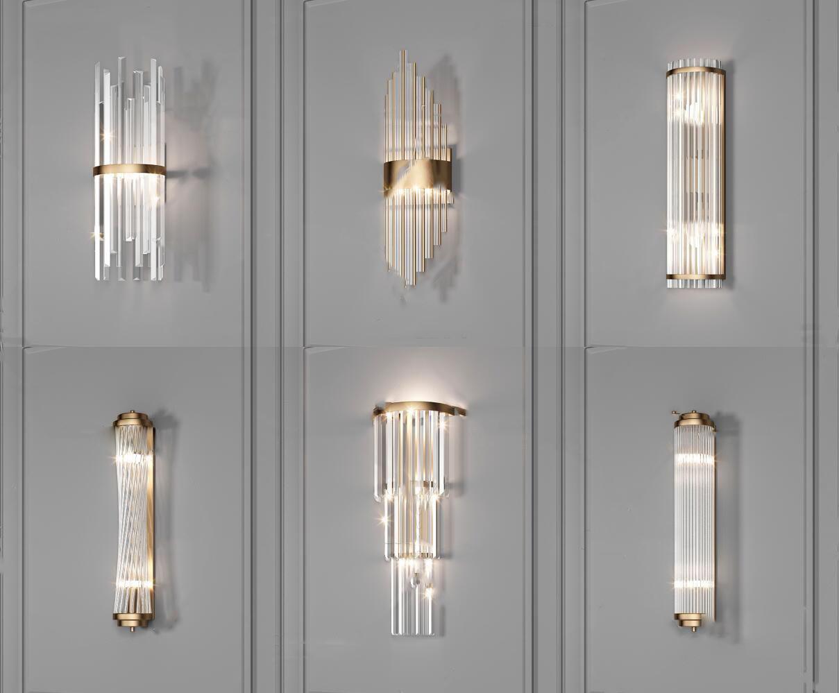 现代时尚壁灯3d模型