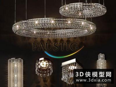 現代水晶燈組合