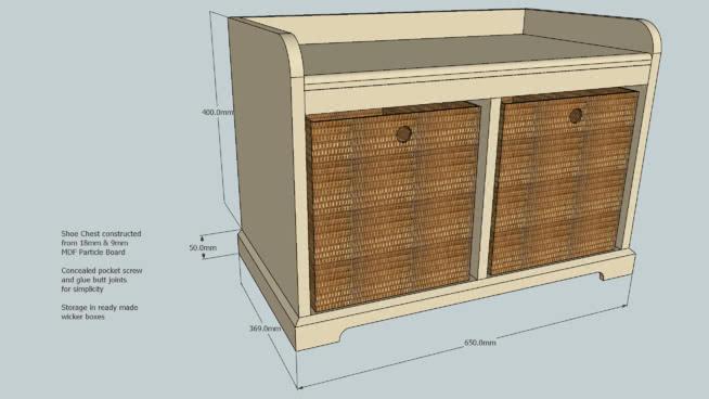储鞋台 柜子 箱子 板条箱(木箱) 保险箱 垃圾箱