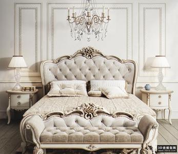 欧式风格床