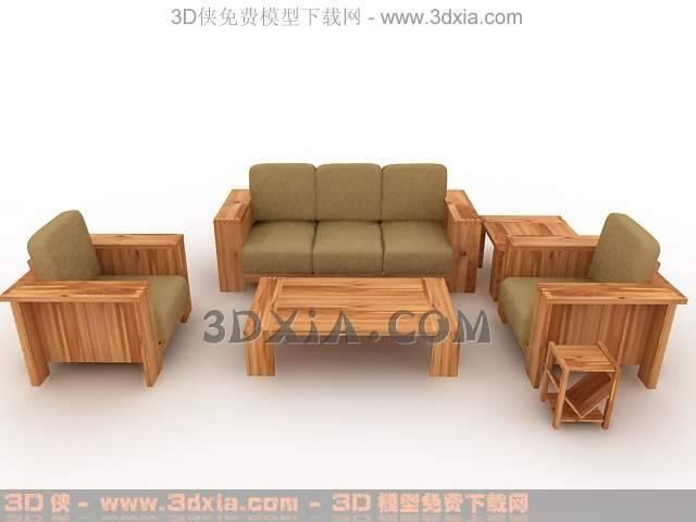 沙发组合-版本3dmax8-26