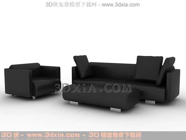 沙发组合-版本3dmax8-32