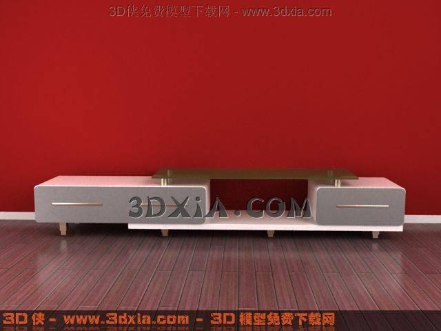 电视柜3D模型下载-3DMAX828
