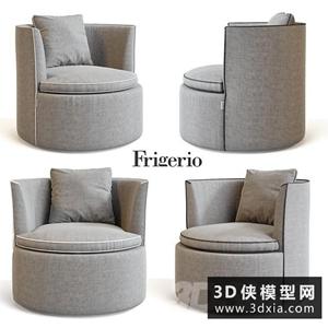 现代单人沙发椅