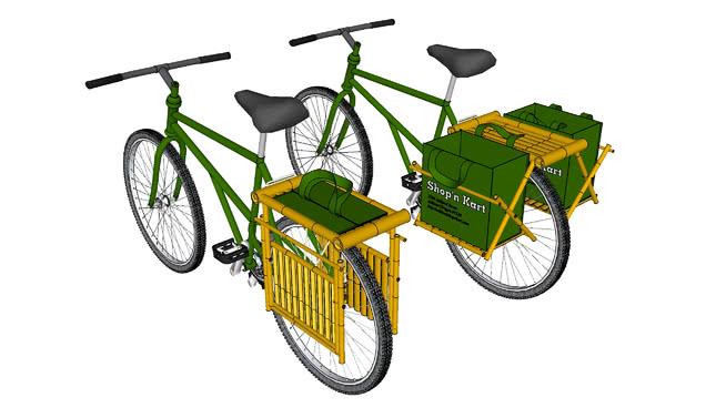竹的裙撑2.0(测试版) 自行车 三轮车 双人自行车