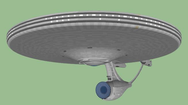USS企业NCC-1701(超越星际迷航) 聚光灯 过滤器 电风扇 飞艇 无线电望远镜