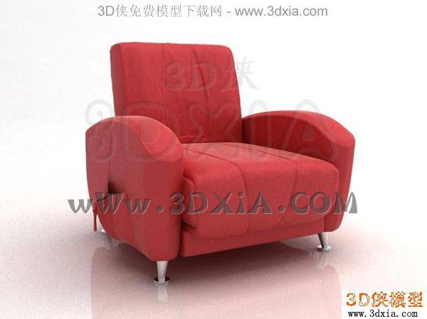 单人沙发-3DMAX2008-151